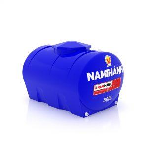 Bồn Nước Nhựa Tiêu Chuẩn 500 Lít Ngang Nam Thành