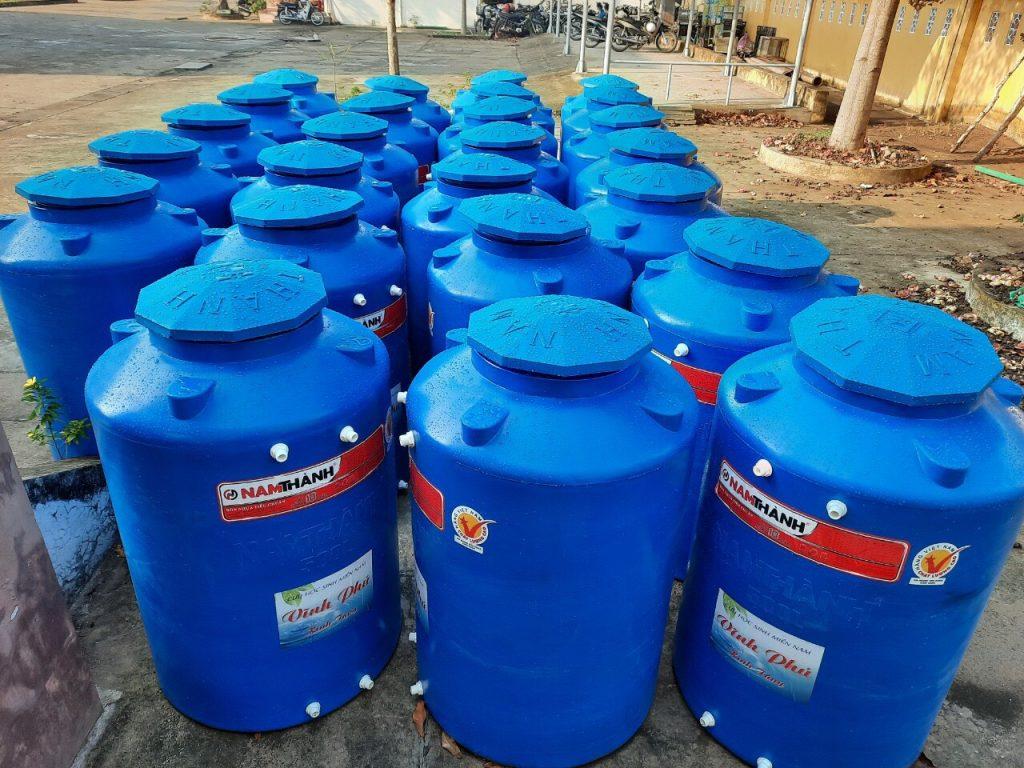 Bồn nước nhựa tại Cà Mau